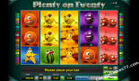 slots online grátis Plenty on twenty Greentube